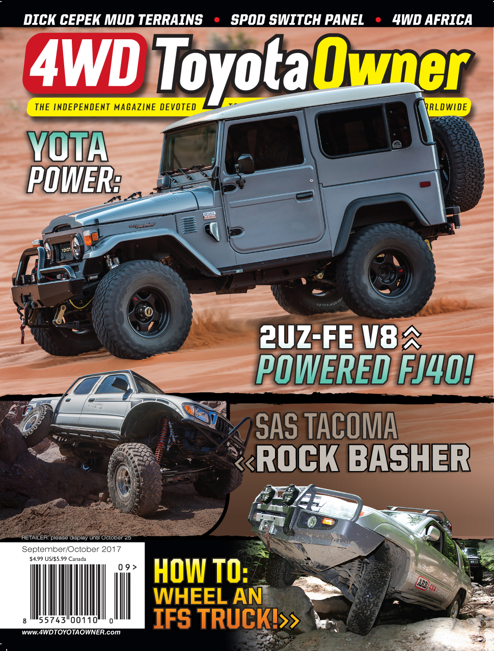Order Past Issues – 4WD Toyota Owner Magazine
